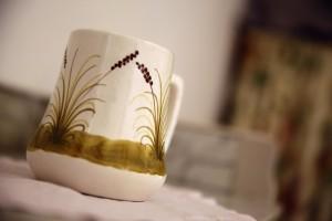 Les Chardonnerets detail tasse